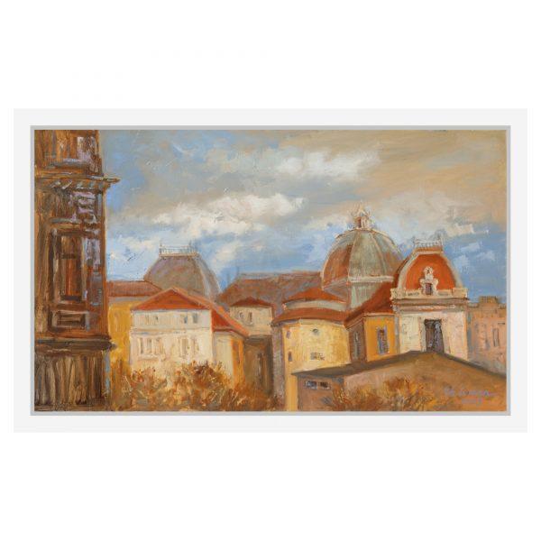 Tablou pe panza pictat