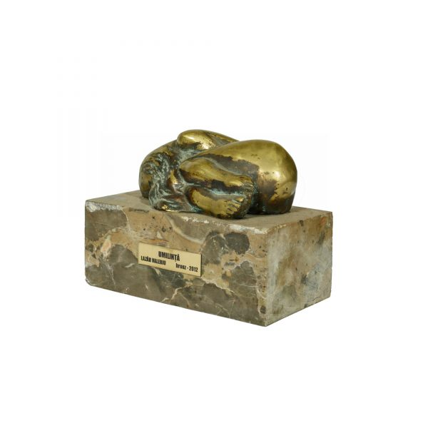 Lucrare realizata manual din bronz