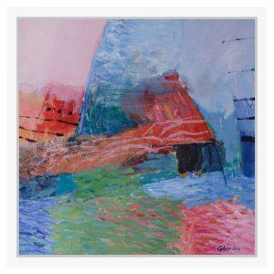 Tablou in ulei pe panza - Arhitecturi - Cornelia GHERLAN